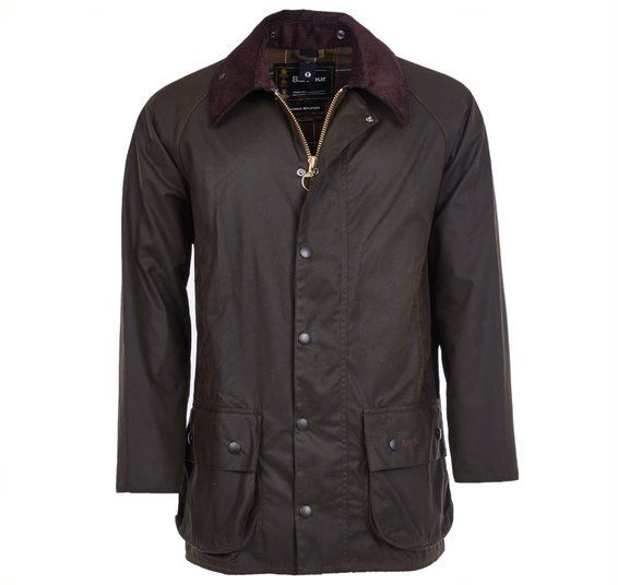 BARBOUR BEAUFORT WAX JACKET / OLIVE
