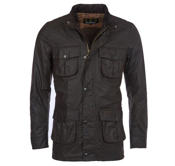 BARBOUR CORBRIDGE WAX JACKET / RUSTIC