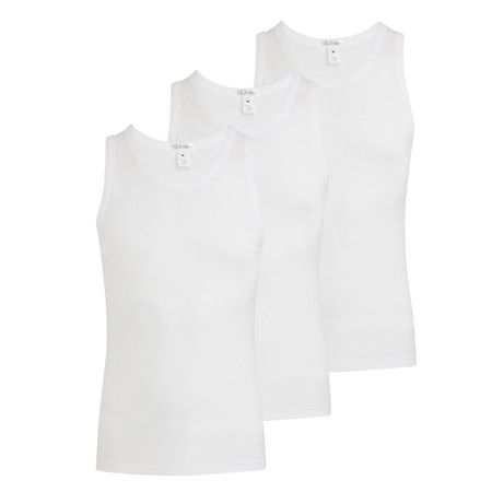 JOCKEY 3 PACK VEST / WHITE