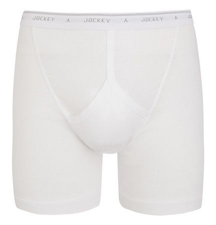 JOCKEY SINGLE PACK MIDWAY TRUNK / WHITE